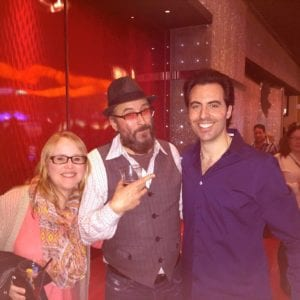 Rob Magnotti comedian impressionist actor with fans