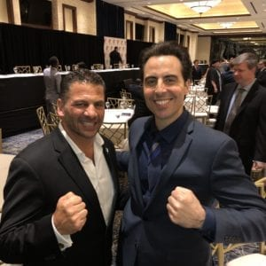 Pat Russo and Rob Magnotti Comedian Impressionist Actor at 22nd Annual Dr. Theodore A. Atlas Foundation Dinner